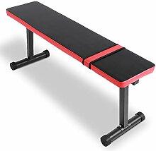 Banc de Musculation Multifonction Tabouret plat de