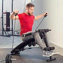 Banc de musculation pliable abdominaux et dorsaux,