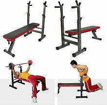 ®Banc de Musculation Pliable | Hauteur Réglable,