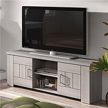 Banc TV 145 cm contemporain couleur chêne clair