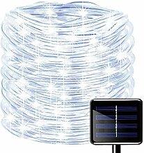 Bande LED Guirlande Tube Lumineuse Solaire,KINGCOO