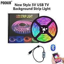 Bande lumineuse Bluetooth, Flexible, rvb,