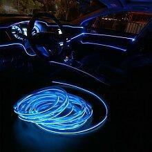 Bande lumineuse Led pour voiture, 2M, néon,
