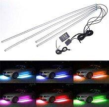Bande lumineuse RGB LED néon pour châssis de