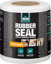Bande textile Bison Rubber Seal 10cm x 10m