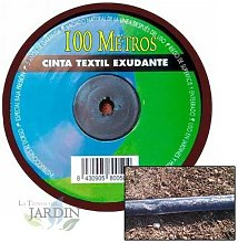 Bande textile dégoulinante de 16 mm.