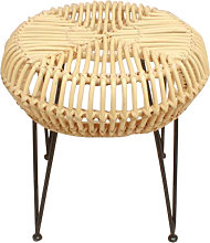 Bangli - Tabouret design en rotin