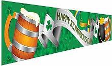 Bannière Saint Patrick Décoration Shamrock St