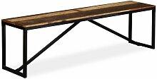 Banquette pouf tabouret meuble banc bois de