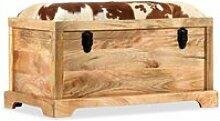 Banquette pouf tabouret meuble banc de rangement