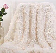Bantie Couverture polaire super douce à poils