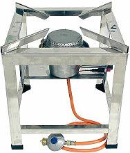 Banyo - Rechaud sur trepied 10 kW, acier inoxydable