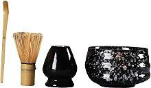 Baoblaze 4 pièces Traditionnel Fouet à thé