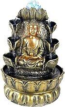 Baoblaze Fontaine de de Table de Bouddha de 11,8