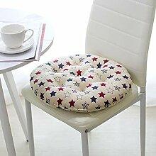 Baodaner Galette de chaise ronde pour chaise de