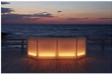 Bar lumineux modèle dublin - module d'angle -