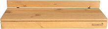 Bar table pour balcon en pin balustrade ronde