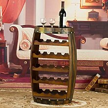 Bar Wine Rack Ménages Barrel Wine Rack 23