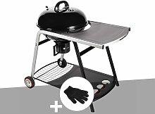 Barbecue à charbon de bois sur chariot Ranger +