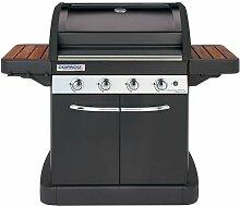 Barbecue à gaz 4 Series Classic WLXD Plus - Noir