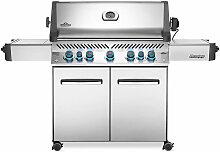 Barbecue à gaz Prestige 665 inox - Napoleon