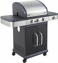 Barbecue au gaz FIDGI 3 avec thermomètre - 3