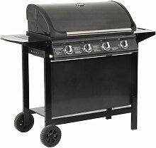 Barbecue au gaz RENO - 4 brûleurs avec