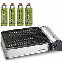 BARBECUE Barbecue gaz portable 1.9 KW Kemper