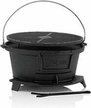 BARBECUE BBQ-Toro Barbecue en Fonte avec Grille -