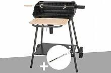 Barbecue charbon Bergamo Somagic + Fourchette en