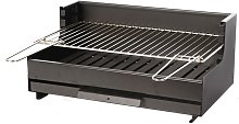 Barbecue charbon Original Vulcain Acier - Le