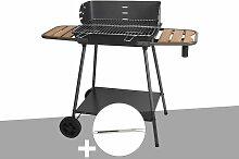 Barbecue charbon Promenade Somagic + Fourchette en