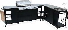 Barbecue cuisine extérieure gaz - Rochefort -