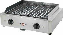 barbecue électrique posable 2x1700w - gecim2oa00