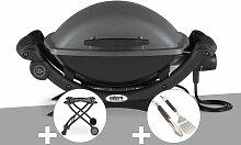 Barbecue électrique Q 1400 - Weber + Chariot +