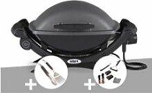 Barbecue électrique Q 1400 - Weber + Kit