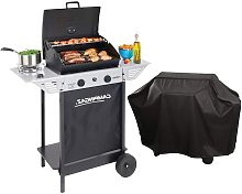Barbecue gaz grill XPERT100LS +Rocky + Housse