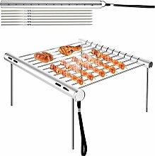 Barbecue Grilles, Barbecue en Acier Inoxydable