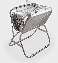 Barbecue pliable portable et pratique pour