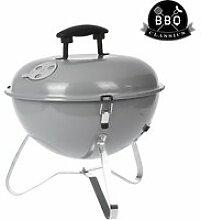 Barbecue portable à charbon avec couvercle bbq