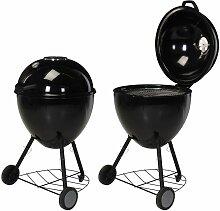 Barbecue sous forme de bouilloire 54x92 cm -