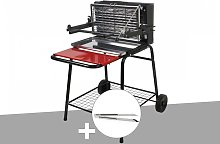 Barbecue vertical Raymond + Pince inox - Somagic