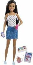 Barbie - babysitter skipper - coffret poupée