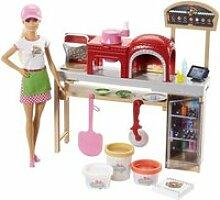 Barbie - coffret pizzeria MATFHR09