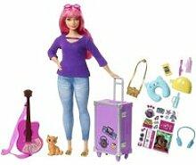 Barbie - daisy voyage - coffret poupée mannequin