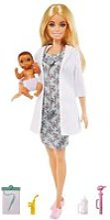 Barbie metiers pediatre et accessoires MATGVK03