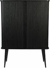 BARBIER - Rangement bahut en bois noir