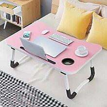 Barbieya Table pour ordinateur portable, dortoir