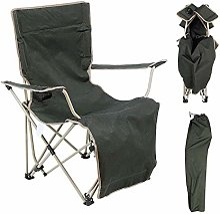 Barm Chaise de Camp Pliante avec Repose-Pieds et