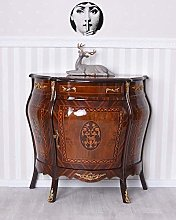 Baroque Commode Marqueterie Commode Console Bois